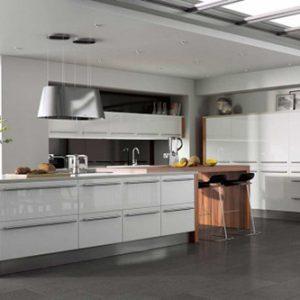 Mẫu tủ bếp Laminate L10